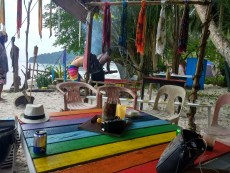 Monkey beach: the rasta bar