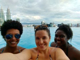 Infinity pool time in KL