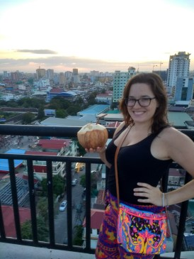 Coconuts & rooftop views from my building
