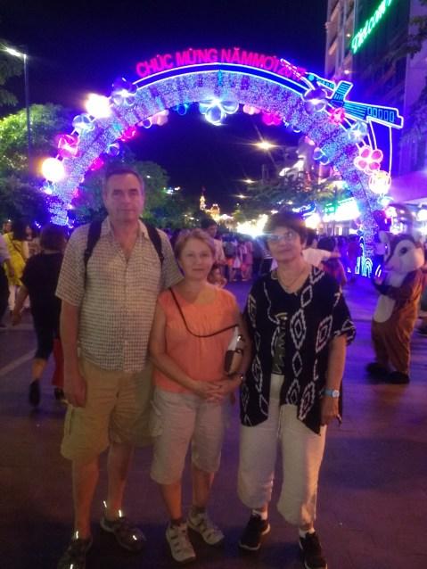 Tet festivities in HCMC