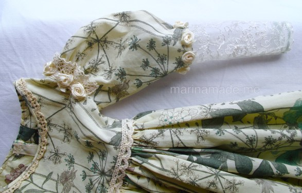 Marina's muses, individually hand made creations. Marina's muses are inspired by artists models, individually hand made using fine cotton lawns and silks.