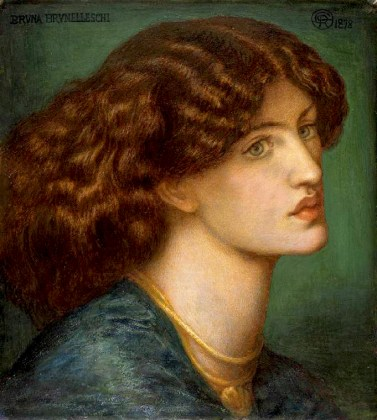 Painting of Jane Morris by Dante Gabriel Rossetti 1878. Reference for Marina's Muses.