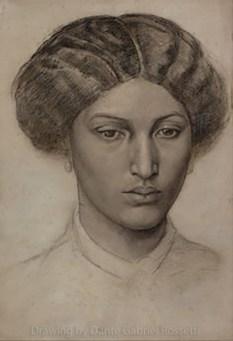 Fanny Eaton by DG Rossetti.