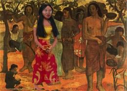"Teha'amana muse in ""Nave Nave Mahana"" or Delightful days. Art muse made by Marina Elphick."