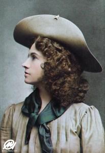 American sharpshooter Annie Oakley