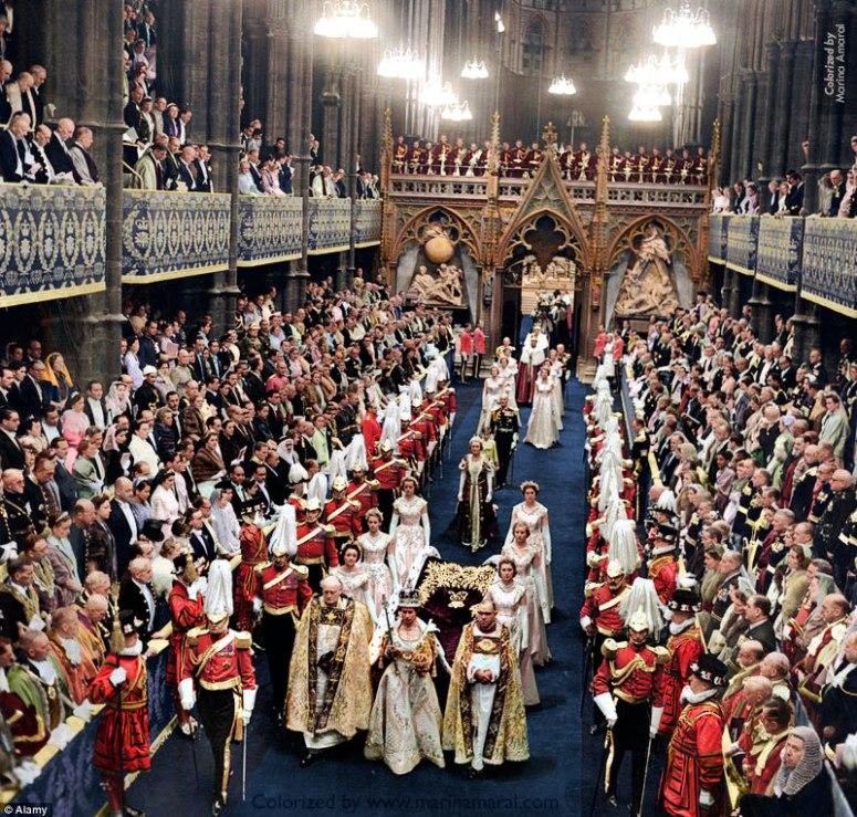 Coronation of Queen Elizabeth II – Marina Amaral