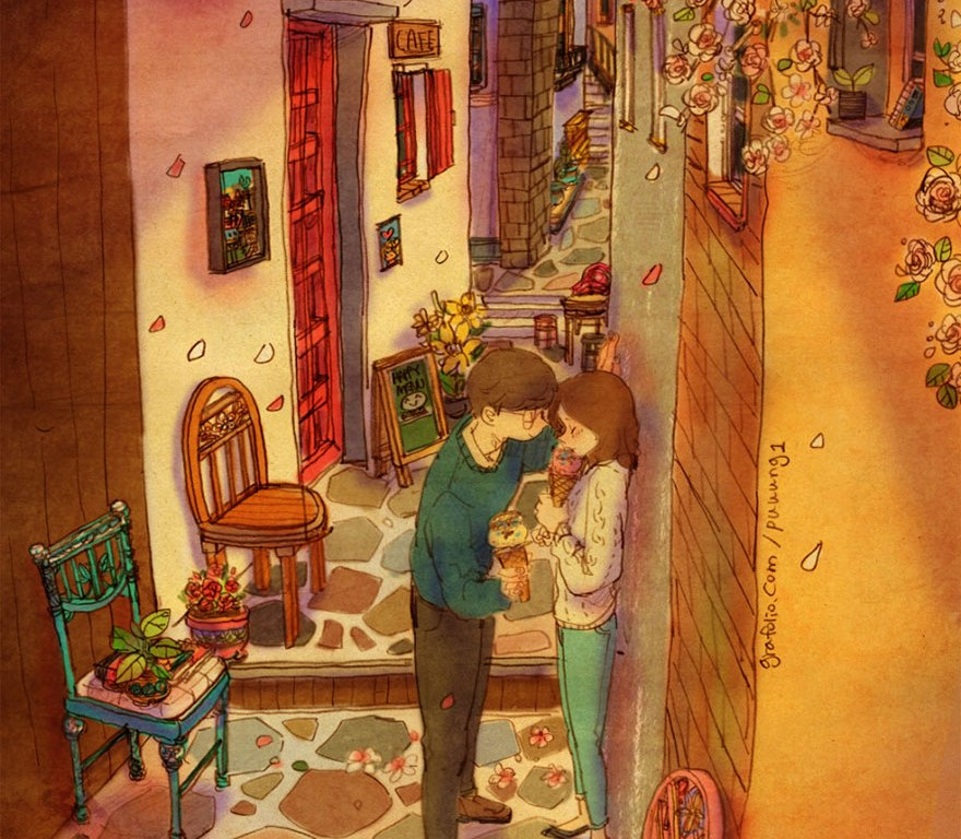 αγάπη, love, eros, έρωτας, σχέση, ζευγάρι, Puuung,