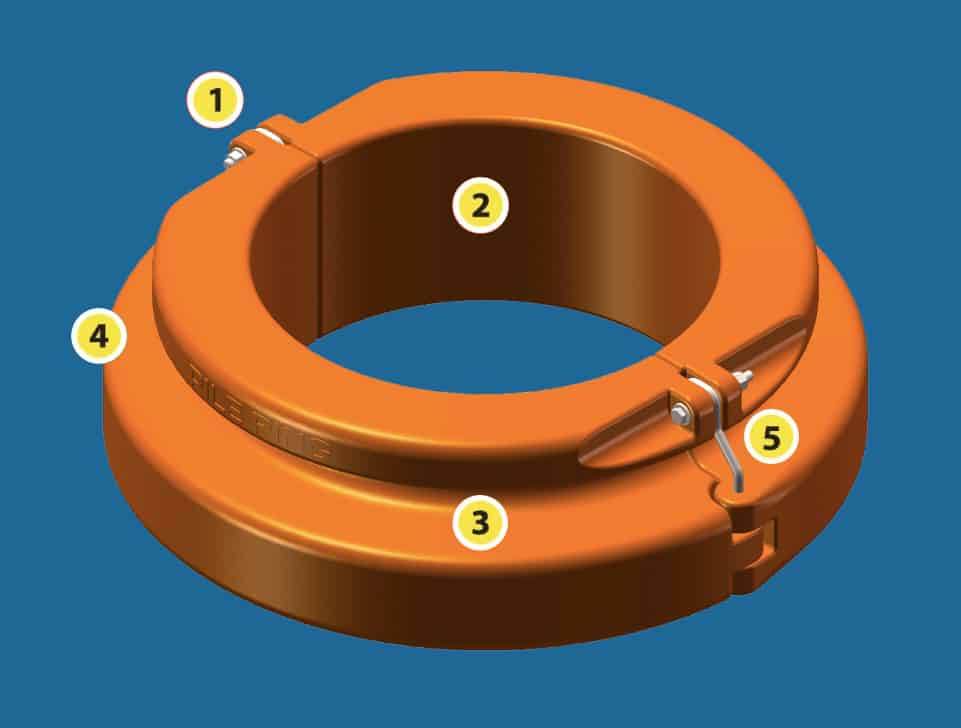 Marinaquip – Innovative Marina Equipment: Pile Ring: Revolutionary, Safe and Secure, All-Tide Mooring Solution. Ideal also for Floating Solar Power Plants.