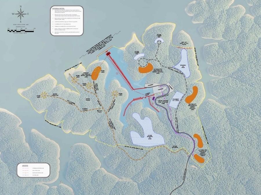 Lake Cumberland Maps GPS Maps Information