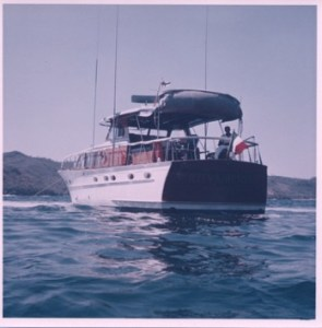 54' Chris Craft Sunken