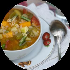 Opskrift på sensommer minestrone