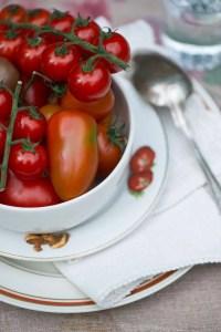 Tomater til tomatminestrone