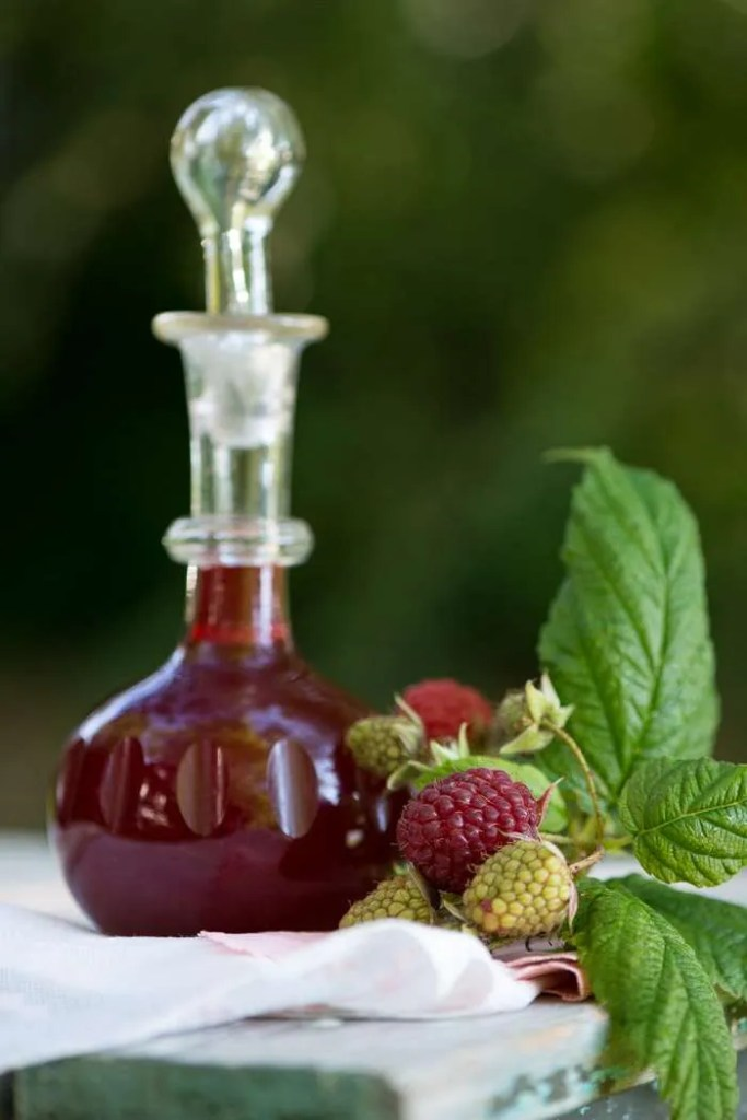 Hjemmelavet hindbær eddike opskrift