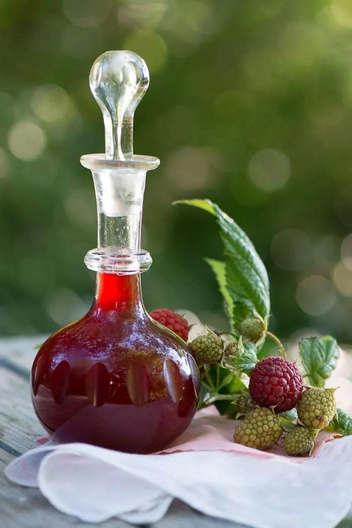 Hindbær eddike