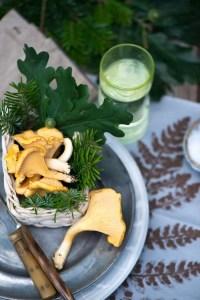 Madplan med svampe omelet