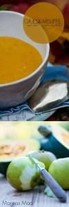 Græskarsuppe. Opskrift.