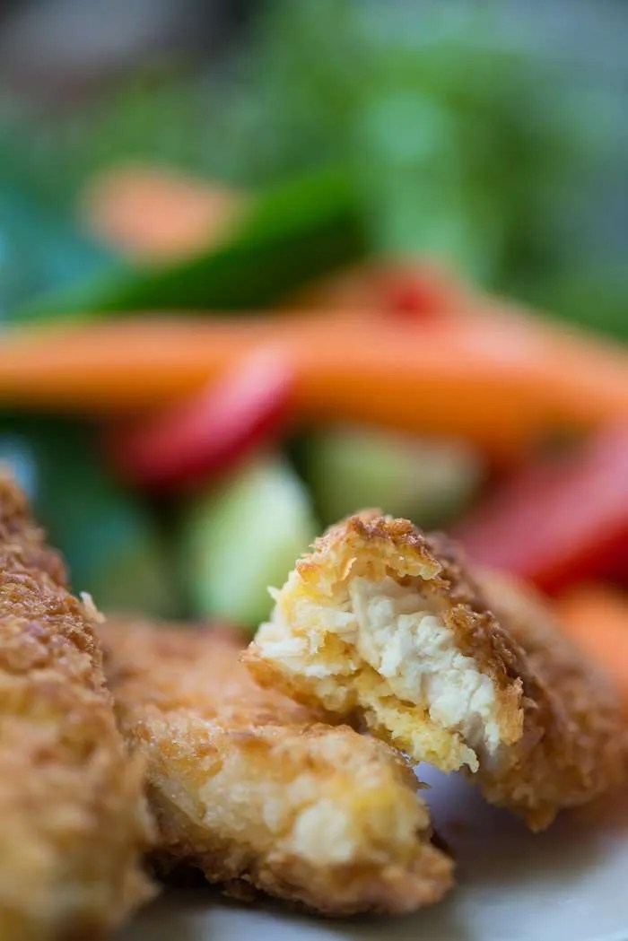 Opskrift på hjemmelavede kyllinge nuggets