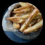 Opskrift på pommes frites i ovn