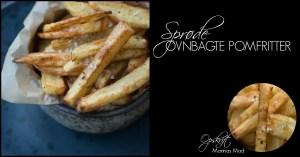 Opskrift hjemmelavede pommes frites