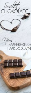 Chokolade temperering i microovn