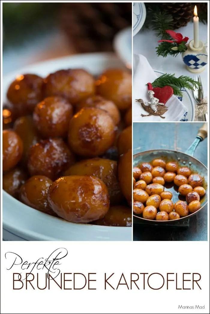Brune kartofler. Opskrift med gode råd fra Marinas Mad