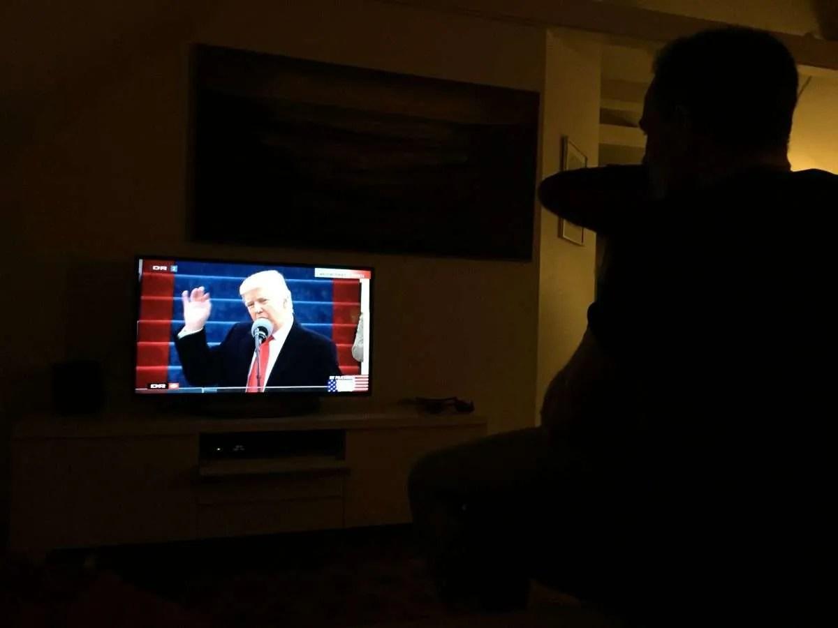 Hverdagsglimt: Trump taler
