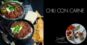 Opskrift på chili con carne med chokolade