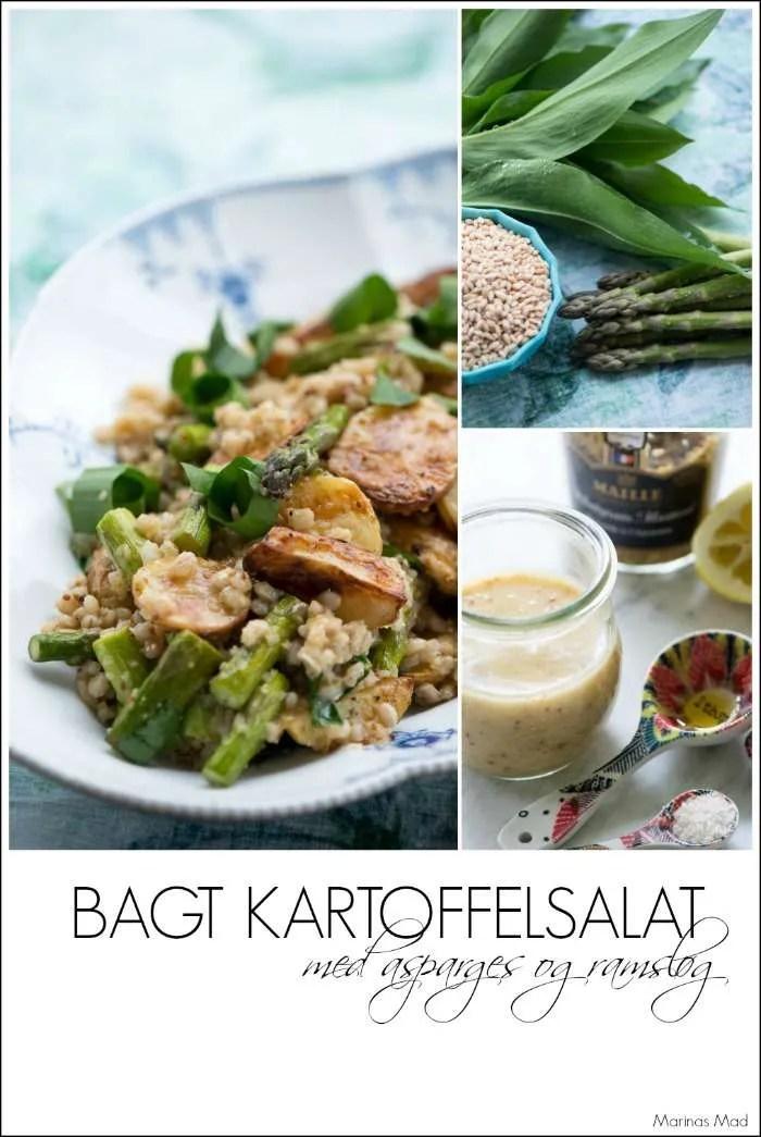 Kartoffelsalat med ramsløg. opskrift