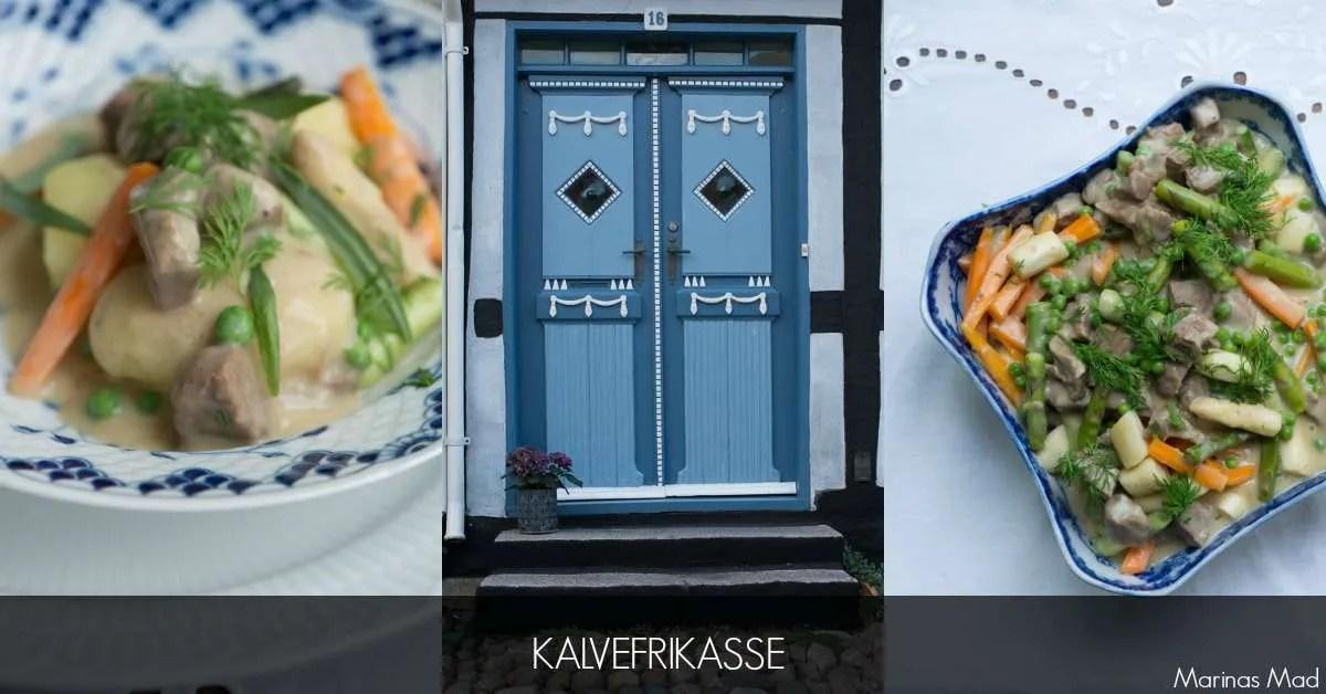 Klassisk dansk kalvefrikassé. opskrift