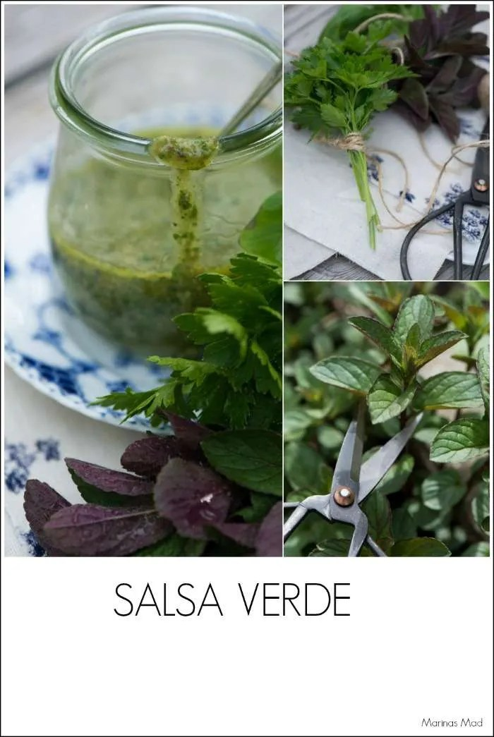 Salsa Verde opskrift på grøn sauce