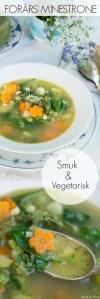 Vegetarisk minestrone opskrift