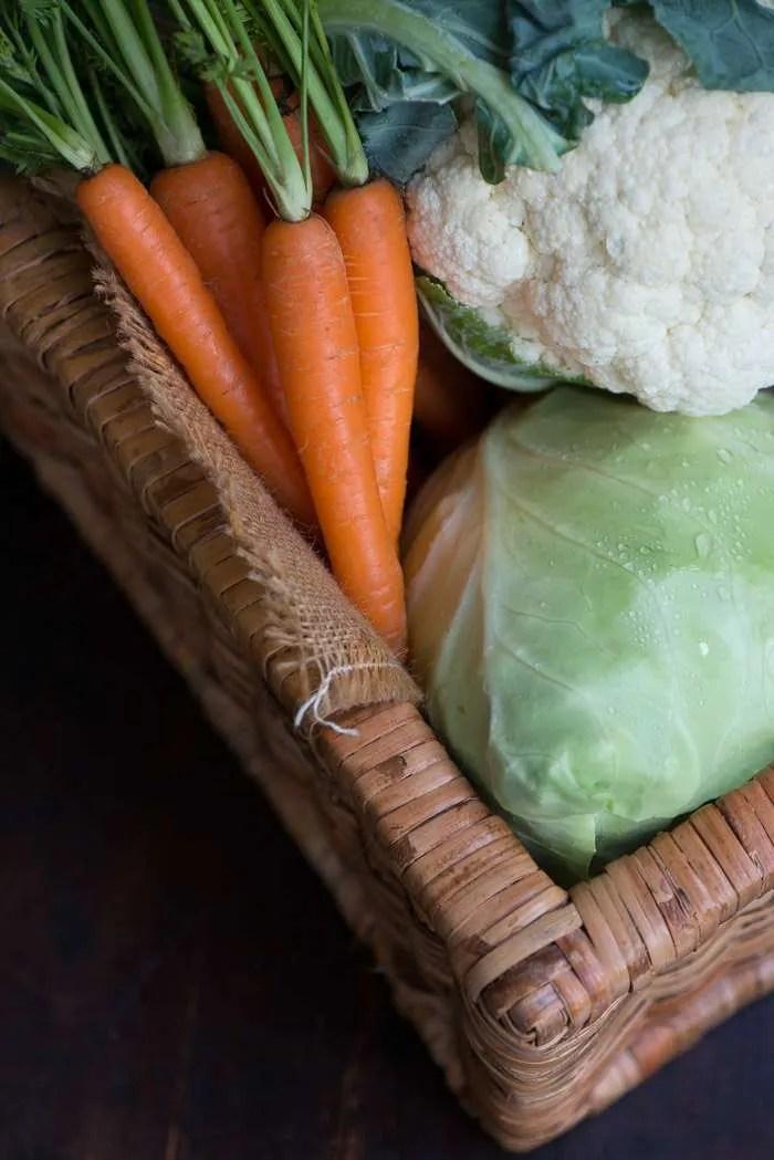grøntsager til smørdampning