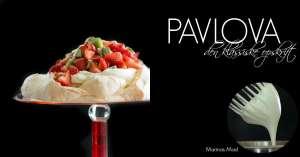 Pavlova kage opskrift