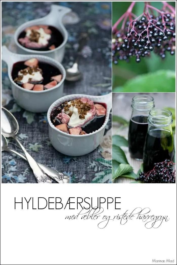 Hyldebærsuppe er en dejlig dessert. Nem at lave og fyldt med vitaminer. Opskrift fra Marinas Mad