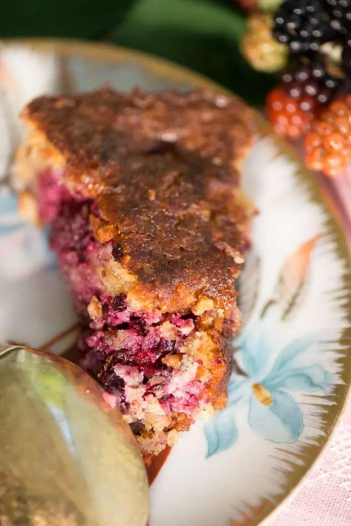 Opskrift på kage med mandelmel