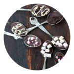 Sådan laver du chokoladeskeer