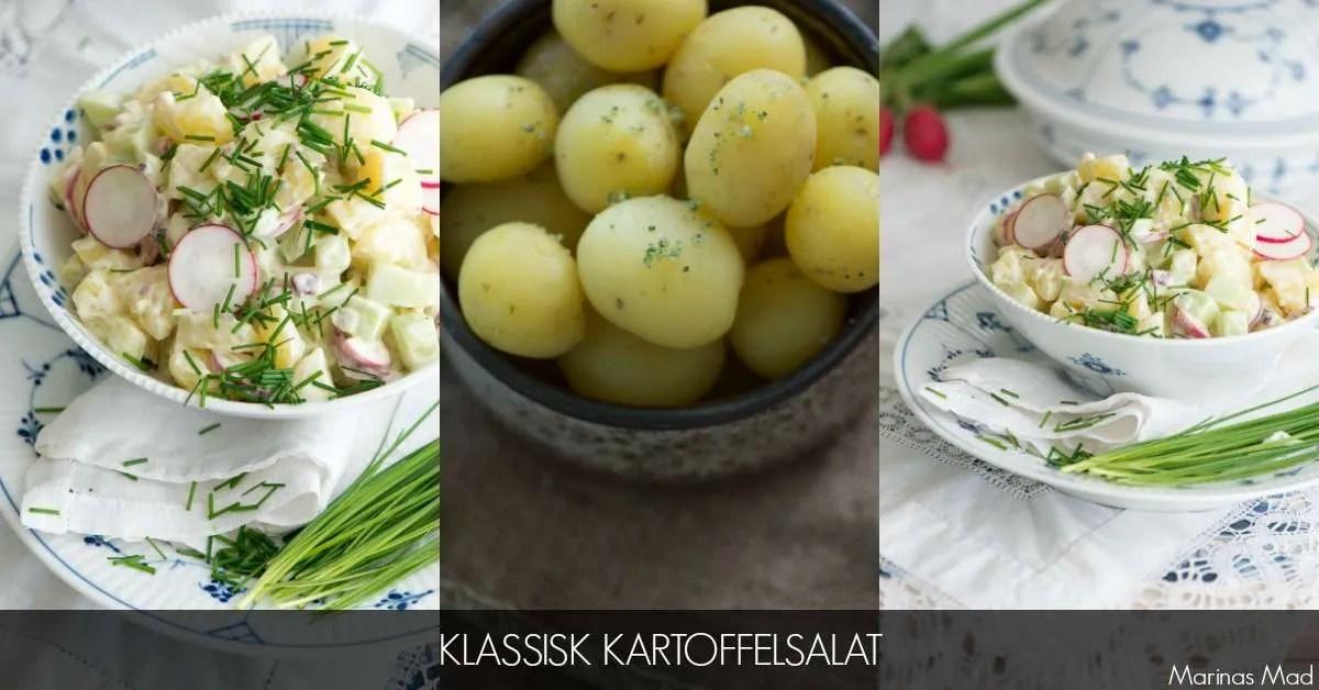Opskrift på kold kartoffelsalat