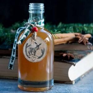 Marinas opskrift på julesirup med appelsin og vanilje