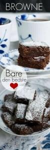 Verdens bedste brownie opskrift