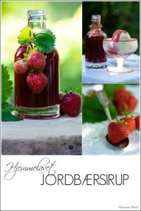 Sådan laver du hjemmelavet jordbærsirup