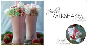 Opskrift på amerikanske jordbær milkshakes