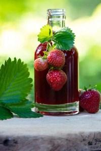 Opskrift på nem jordbærsirup
