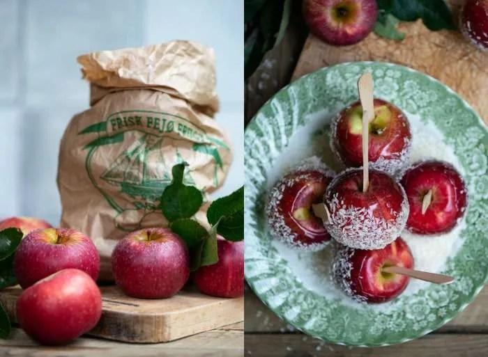 Kandiserede æbler fra Fejø