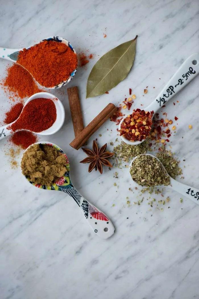 Krydderier til Chili Con Carne