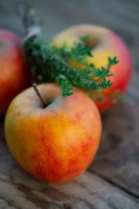 Æbler til æbleflæsk. Opskrift fra Marinas Mad