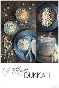 Opskrifter på dukkah krydderi