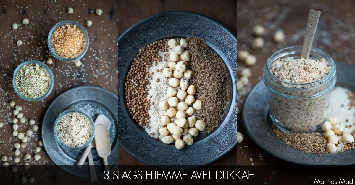 Dukkah til salat opskrifter. Find opskrifterne hos Marinas Mad