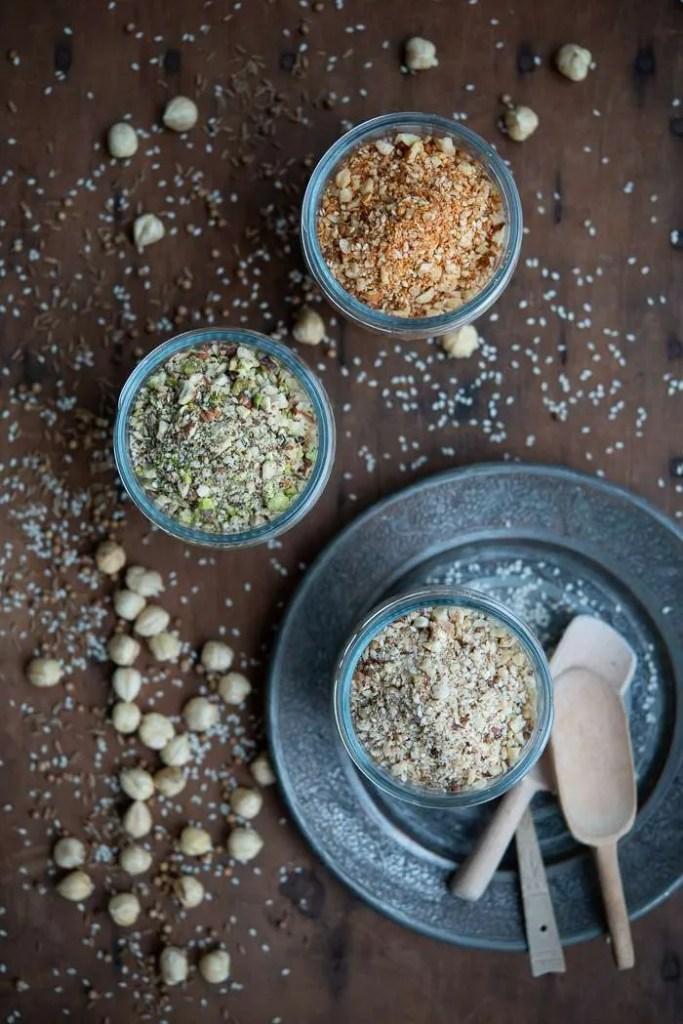 Sådan laver du hjemmelavet dukkah. 3 Opskrifter fra Marinas Mad