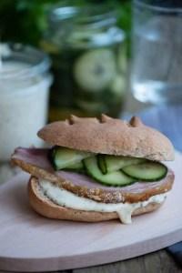 Opskrift på sennepsdressing til sandwich