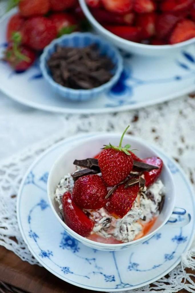 Sommer dessert opskrift